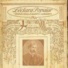Libros antiguos: SANTIAGO RUSIÑOL : DE LA VIDA - ILUSTRACIÓ CATALANA. Lote 38113049