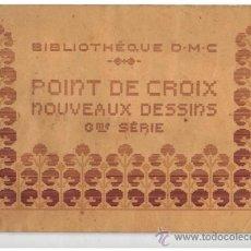 Libros antiguos: LABORES PUNTO DE CRUZ 22 PAGINAS DE PARIS EN FRANCES . Lote 38131174