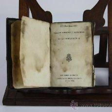 Libros antiguos: 5887- REGLAMENTO PARA EL EXERCICIO Y MANIOBRAS DE LA INFANTERIA. VV.AA. IMP. REAL. 1812.. Lote 38144562
