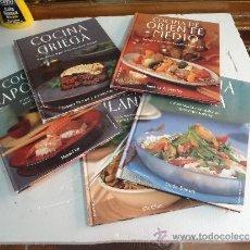 Libri antichi: CINCO TOMOS COCINA JAPONESA,GRIEGA,ORIENTE MEDIO,CHINA,TAILANDESA. Lote 38175856
