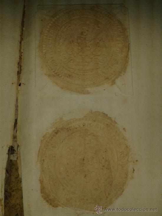 Libros antiguos: DOCUMENTO HISTORICO PERGAMINO PROTOCOLO NOTARIAL DE ESCRIBANIA. 1718-1740. N.6 juan jacva arzobispo - Foto 7 - 38210623