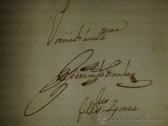 Libros antiguos: DOCUMENTO HISTORICO PERGAMINO PROTOCOLO NOTARIAL DE ESCRIBANIA. 1718-1740. N.6 juan jacva arzobispo - Foto 8 - 38210623
