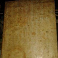 Libros antiguos: DOCUMENTO HISTORICO PERGAMINO PROTOCOLO NOTARIAL DE ESCRIBANIA. 1718-1740. N.6 JUAN JACVA ARZOBISPO. Lote 38210623