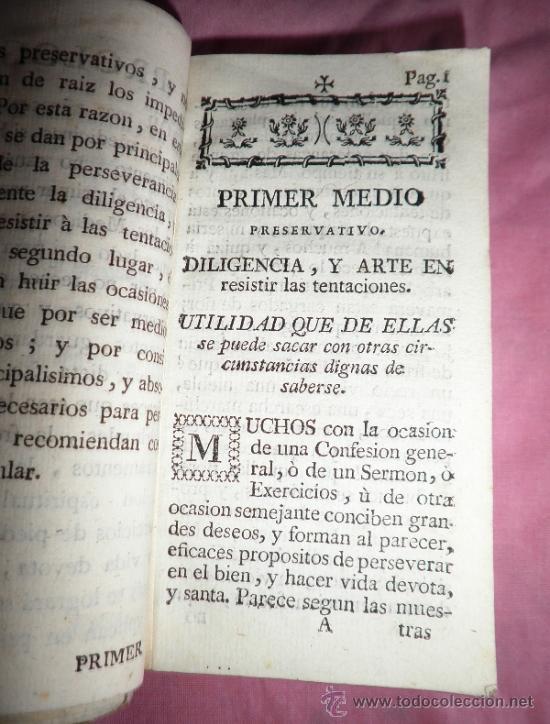 Libros antiguos: TRATADO DE MEDIOS PRESERVATIVOS PARA LIBRARSE DEL MAL - AÑO 1790 - LIBRO RARO. - Foto 2 - 38240949