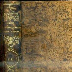 Libros antiguos: PAUL DE KOCK : CAROTIN / LA JOVEN DEL SOTABANCO / CARLOTA Y CARLOS (C. 1870). Lote 38302462