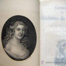 Libros antiguos: LETTRES DE MADAMME DE SÉVIGNE ALPHONSE LEMERRE EDITEUR . Lote 38320035