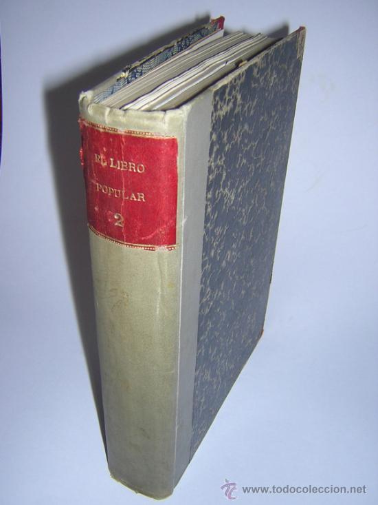 1913 - RAMON GOMEZ DE LA SERNA, DICENTA, UNAMUNO... - EL LIBRO POPULAR - 25 NUMEROS - EL RUSO (Libros antiguos (hasta 1936), raros y curiosos - Literatura - Narrativa - Otros)