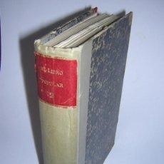 Libros antiguos: 1913 - RAMON GOMEZ DE LA SERNA, DICENTA, UNAMUNO... - EL LIBRO POPULAR - 25 NUMEROS - EL RUSO. Lote 38356811