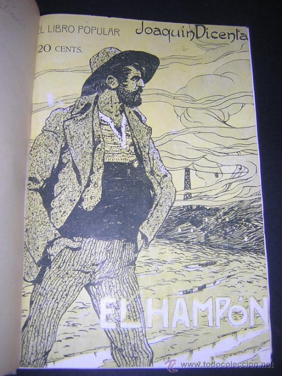 Libros antiguos: 1913 - RAMON GOMEZ DE LA SERNA, DICENTA, UNAMUNO... - EL LIBRO POPULAR - 25 NUMEROS - EL RUSO - Foto 2 - 38356811