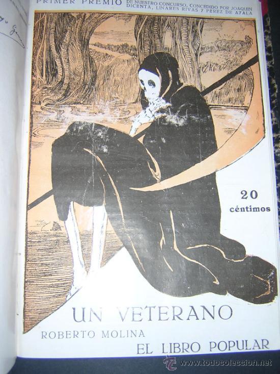 Libros antiguos: 1913 - RAMON GOMEZ DE LA SERNA, DICENTA, UNAMUNO... - EL LIBRO POPULAR - 25 NUMEROS - EL RUSO - Foto 6 - 38356811