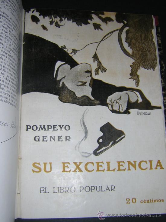 Libros antiguos: 1913 - RAMON GOMEZ DE LA SERNA, DICENTA, UNAMUNO... - EL LIBRO POPULAR - 25 NUMEROS - EL RUSO - Foto 7 - 38356811