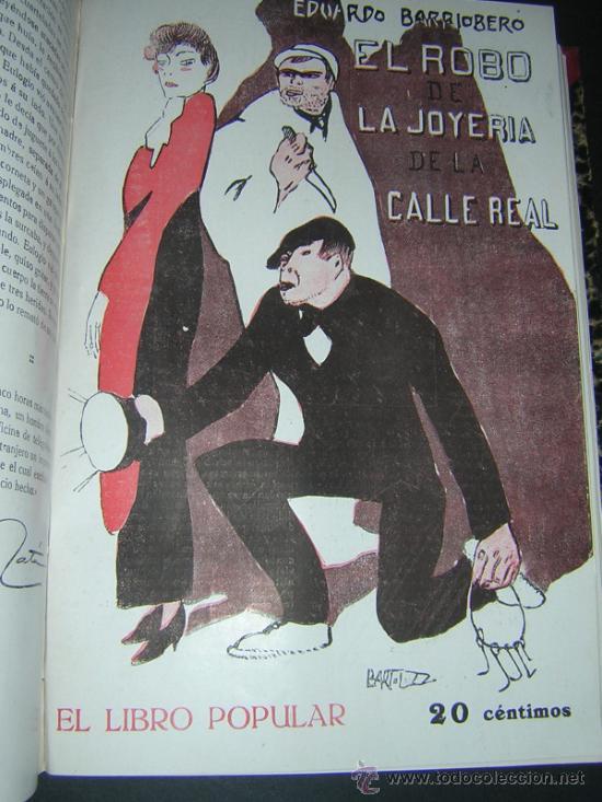 Libros antiguos: 1913 - RAMON GOMEZ DE LA SERNA, DICENTA, UNAMUNO... - EL LIBRO POPULAR - 25 NUMEROS - EL RUSO - Foto 8 - 38356811