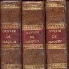 Libros antiguos: BERQUIN - OEUVRES COMPLETES -3 VOL- AÑO 1802. Lote 38366920