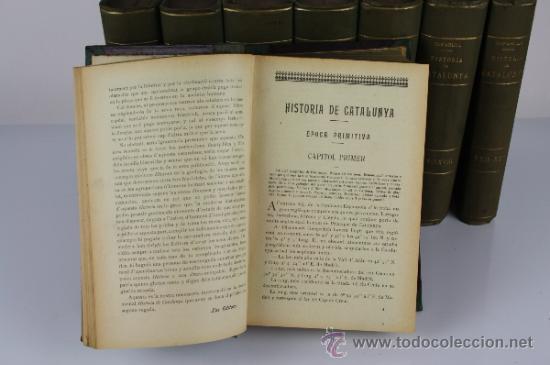 Libros antiguos: 5971 - HISTORIA CRÍTICA CÍVIL Y ECLESIASTICA DE CATALUNYA. A. BOFARULL. 29 VOL. 1906/1910 - Foto 2 - 38467192