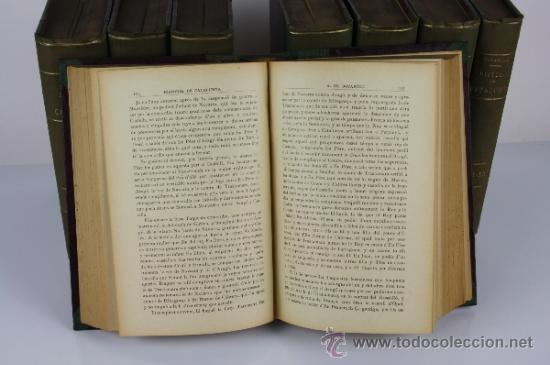 Libros antiguos: 5971 - HISTORIA CRÍTICA CÍVIL Y ECLESIASTICA DE CATALUNYA. A. BOFARULL. 29 VOL. 1906/1910 - Foto 4 - 38467192