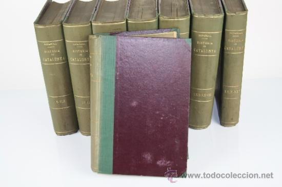 Libros antiguos: 5971 - HISTORIA CRÍTICA CÍVIL Y ECLESIASTICA DE CATALUNYA. A. BOFARULL. 29 VOL. 1906/1910 - Foto 6 - 38467192