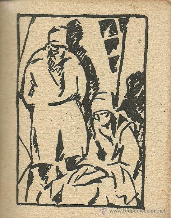Libros antiguos: En el fondo (cuadros) / M. Gorki; ilustraciones de Barradas - 1920 - Foto 4 - 38494271