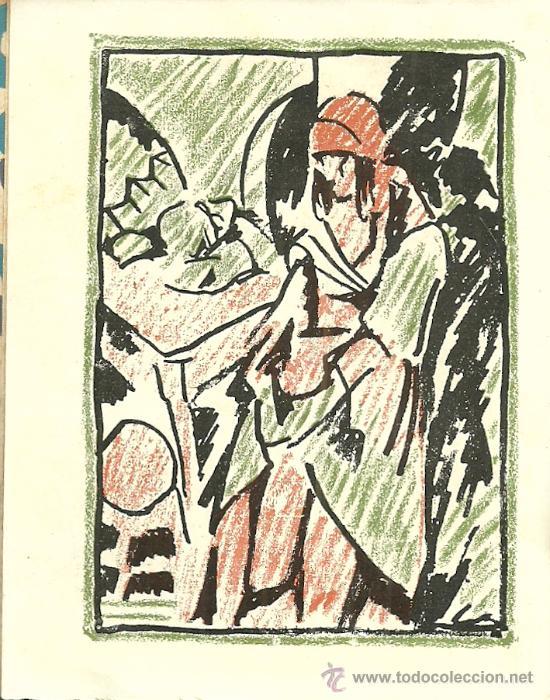 Libros antiguos: En el fondo (cuadros) / M. Gorki; ilustraciones de Barradas - 1920 - Foto 2 - 38494271