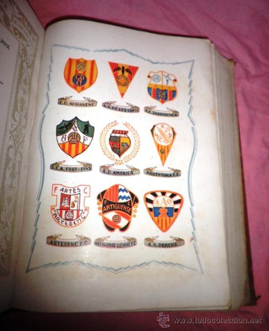 Libros antiguos: LLIBRE D´OR DEL FUTBOL CATALA - AÑO 1928 - RIBAS BANCELLS - ILUSTRADO CON FOTOGRAFIAS DE EPOCA. - Foto 4 - 38537188