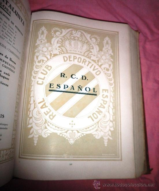 Libros antiguos: LLIBRE D´OR DEL FUTBOL CATALA - AÑO 1928 - RIBAS BANCELLS - ILUSTRADO CON FOTOGRAFIAS DE EPOCA. - Foto 6 - 38537188