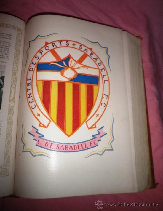 Libros antiguos: LLIBRE D´OR DEL FUTBOL CATALA - AÑO 1928 - RIBAS BANCELLS - ILUSTRADO CON FOTOGRAFIAS DE EPOCA. - Foto 9 - 38537188