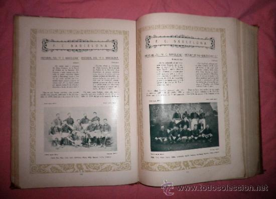 Libros antiguos: LLIBRE D´OR DEL FUTBOL CATALA - AÑO 1928 - RIBAS BANCELLS - ILUSTRADO CON FOTOGRAFIAS DE EPOCA. - Foto 13 - 38537188
