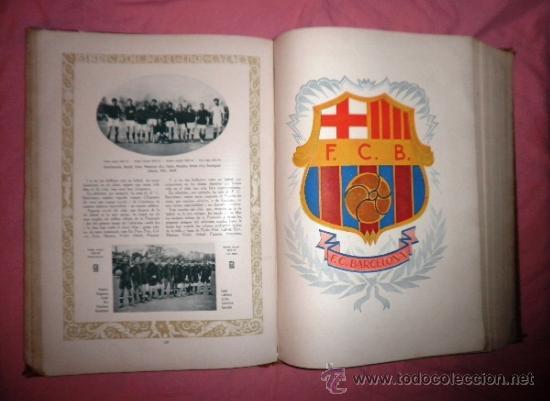 Libros antiguos: LLIBRE D´OR DEL FUTBOL CATALA - AÑO 1928 - RIBAS BANCELLS - ILUSTRADO CON FOTOGRAFIAS DE EPOCA. - Foto 14 - 38537188