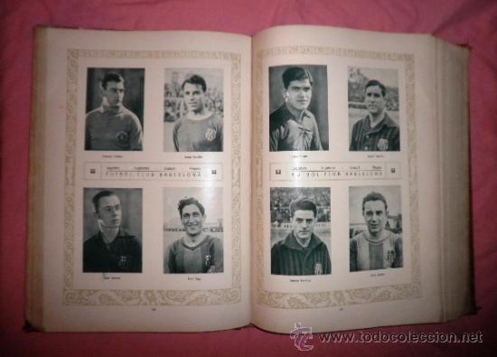 Libros antiguos: LLIBRE D´OR DEL FUTBOL CATALA - AÑO 1928 - RIBAS BANCELLS - ILUSTRADO CON FOTOGRAFIAS DE EPOCA. - Foto 15 - 38537188