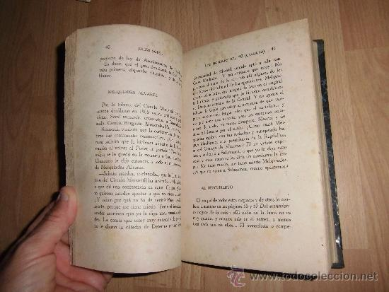 Libros antiguos: LOS HOMBRES DEL 98 UNAMUNO JULIAN SOREL RAFAEL CARO RAGGIO EDITOR 1917 - Foto 5 - 38581279