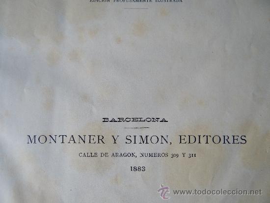 Libros antiguos: nuestro siglo, Otto von LEixner, 1883. - Foto 2 - 38582050