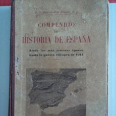 Libros antiguos: COMPENDIO DE HISTORIA DE ESPAÑA. Lote 38637463