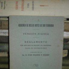 Libros antiguos: ACADEMIA DE BELLAS ARTES DE SAN FERNANDO. Lote 38673717