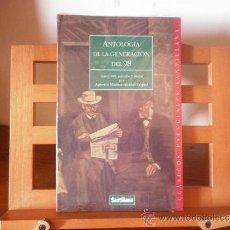 Libros antiguos: ANTOLOGÍA DE LA GENERACIÓN DEL 98 - (AGUSTÍN MUÑOZ-ALONSO LÓPEZ). Lote 38665527