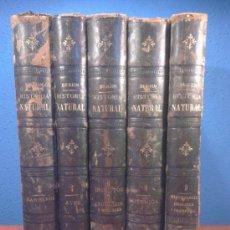 Libros antiguos - BREHM LA CREACIÓN - HISTORIA NATURAL - TOMOS 2 - 4 - 6 - 7 - 8 - 9 ; 1880 / 1883 GRABADOS Y LÁMINAS - 38731080