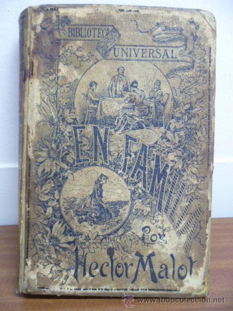 EN FAMILIA POR HÉCTOR MALOT - ILUSTRACIONES DE LANOS - MONTANER Y SIMÓN 1895 (Libros antiguos (hasta 1936), raros y curiosos - Literatura - Narrativa - Otros)