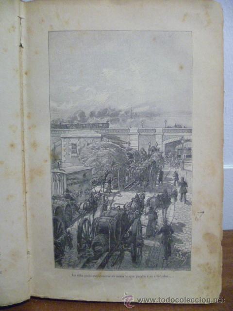 Libros antiguos: EN FAMILIA POR HÉCTOR MALOT - ILUSTRACIONES DE LANOS - MONTANER Y SIMÓN 1895 - Foto 6 - 38794765