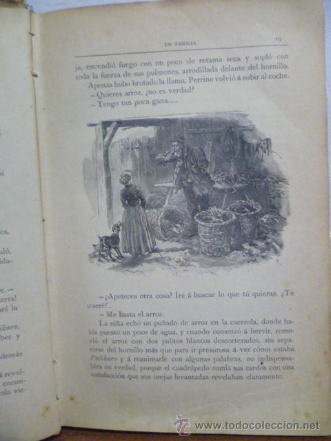Libros antiguos: EN FAMILIA POR HÉCTOR MALOT - ILUSTRACIONES DE LANOS - MONTANER Y SIMÓN 1895 - Foto 8 - 38794765