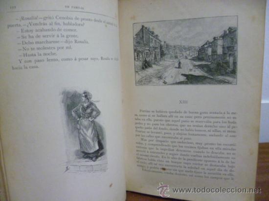 Libros antiguos: EN FAMILIA POR HÉCTOR MALOT - ILUSTRACIONES DE LANOS - MONTANER Y SIMÓN 1895 - Foto 9 - 38794765