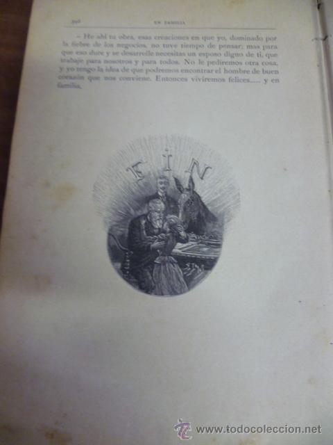 Libros antiguos: EN FAMILIA POR HÉCTOR MALOT - ILUSTRACIONES DE LANOS - MONTANER Y SIMÓN 1895 - Foto 12 - 38794765