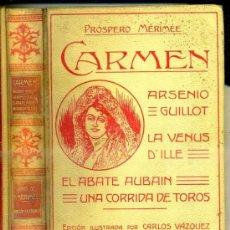 Libros antiguos: MERIMÉE : CARMEN (MONTANER Y SIMÓN, 1910). Lote 38887284
