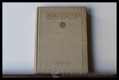Libros antiguos: Variaciones.1 edición. Ramón Gomez de la Serna.Editorial Atenea 1922.Vanguardias - Foto 2 - 38915952