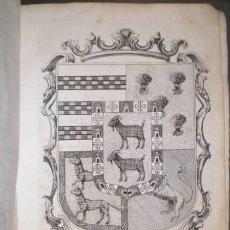 Libros antiguos: CASA DE CABRERA EN CORDOBA: OBRA GENEALÓGICA HISTÓRICA. 1779. Lote 38926483