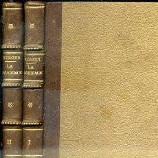 Libros antiguos: MÜRGER : LA BOHEME - ESCENAS DE LA VIDA BOHEMIA - DOS TOMOS (GRANADA, 1907). Lote 38958888