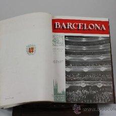 Libros antiguos: 6056- BARCELONA. SUPLEMENTO ILUSTRADO DE LA GACETA MUNICIPAL. VV.AA. 3 VOL. 1955/57. Lote 38990338