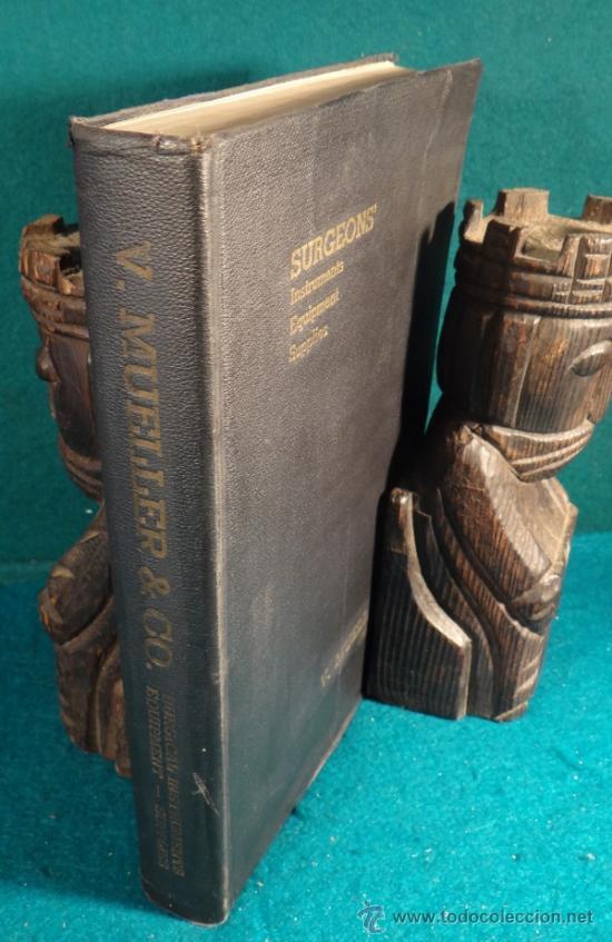INMENSO CATALOGO DE INSTRUMENTOS DE MEDICINA CIRUGÍA LABORATORIO FARMACIA CLINICA. MUELLER .1938 USA (Libros Antiguos, Raros y Curiosos - Ciencias, Manuales y Oficios - Otros)