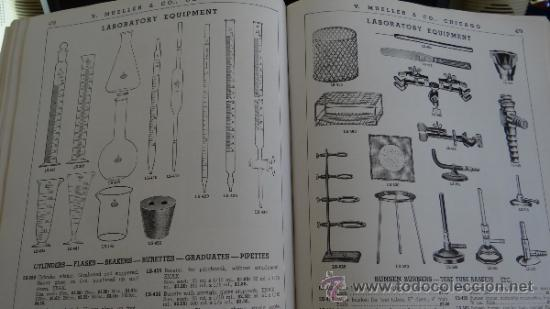 Libros antiguos: INMENSO CATALOGO DE INSTRUMENTOS DE MEDICINA CIRUGÍA LABORATORIO FARMACIA CLINICA. MUELLER .1938 USA - Foto 4 - 38999575