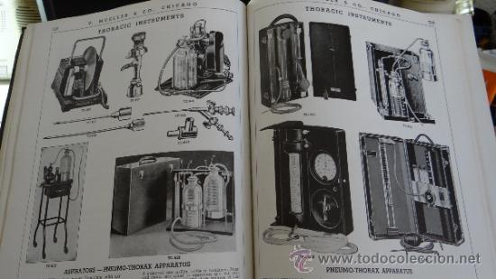Libros antiguos: INMENSO CATALOGO DE INSTRUMENTOS DE MEDICINA CIRUGÍA LABORATORIO FARMACIA CLINICA. MUELLER .1938 USA - Foto 9 - 38999575