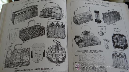 Libros antiguos: INMENSO CATALOGO DE INSTRUMENTOS DE MEDICINA CIRUGÍA LABORATORIO FARMACIA CLINICA. MUELLER .1938 USA - Foto 10 - 38999575