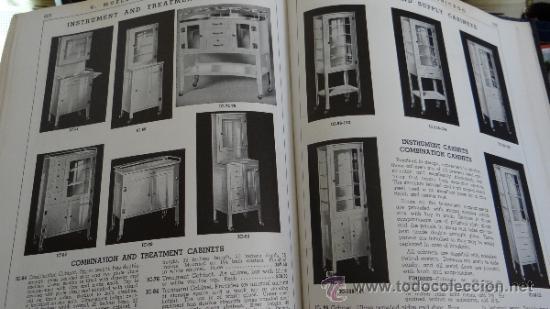 Libros antiguos: INMENSO CATALOGO DE INSTRUMENTOS DE MEDICINA CIRUGÍA LABORATORIO FARMACIA CLINICA. MUELLER .1938 USA - Foto 12 - 38999575