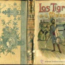 Libros antiguos: EMILIO SALGARI : LOS TIGRES DE LA MALASIA - CALLEJA, TAPA DURA. Lote 61338885